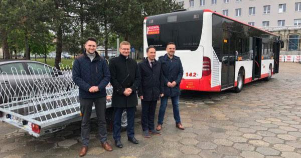 Przyczepka na rowery dla częstochowskich autobusów MPK